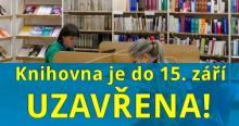 Omezení služeb po dobu stěhování knihovny